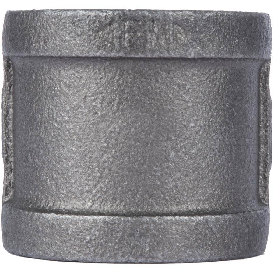"""STZ INDUSTRIES:1-1/2"""" Black Right Hand Thread Coupling"""