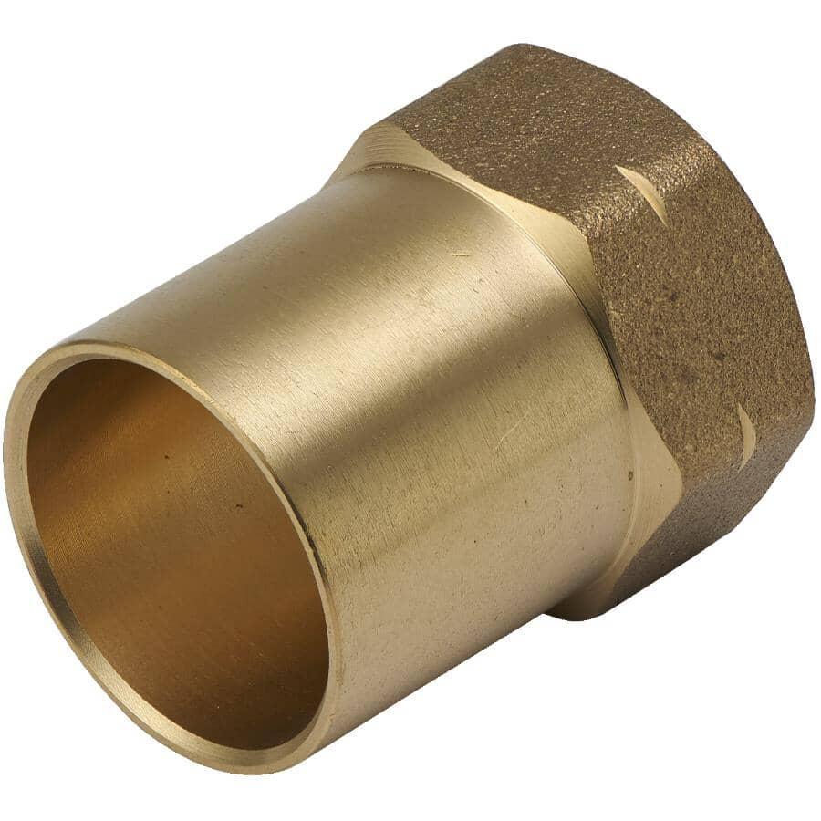 """GENERIC:3/4"""" Copper x 1/2"""" Female Brass Adapter"""