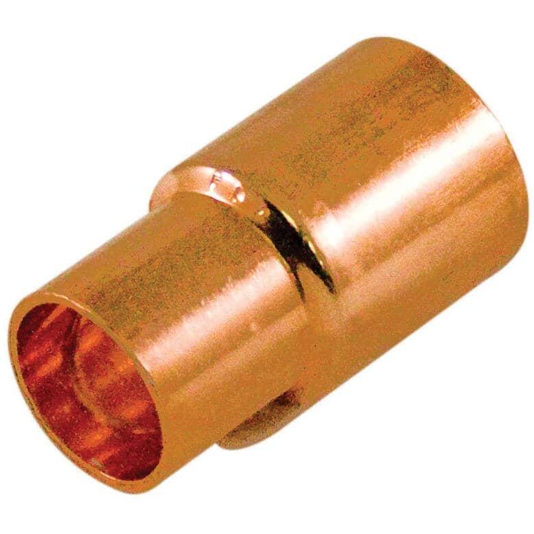 "AQUADYNAMIC:3/4"" Copper x 1/2"" Copper Reducing Coupling"