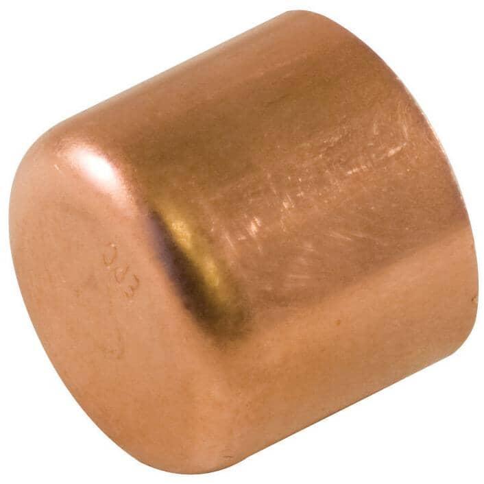 "AQUADYNAMIC:25 Pack 1/2"" Copper End Tube Caps"