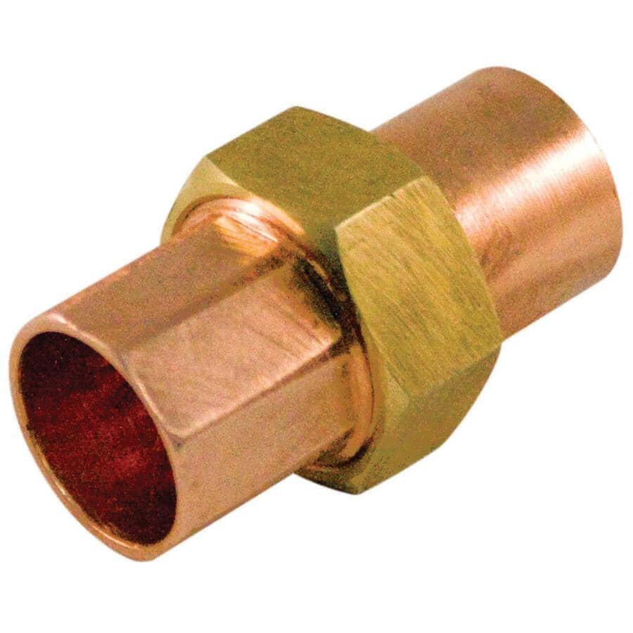 """AQUADYNAMIC:3/4"""" Copper x 3/4"""" Pure Copper Adapter"""