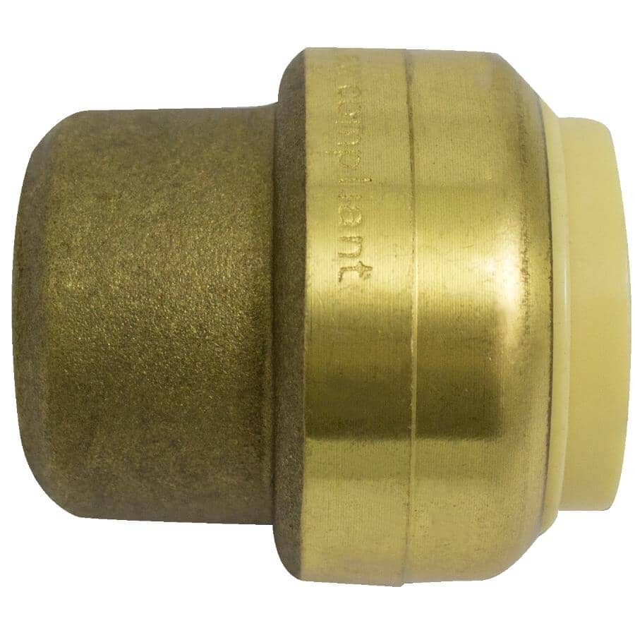 """WATERLINE PRODUCTS:1"""" Push 'N' Connect Push Cap"""