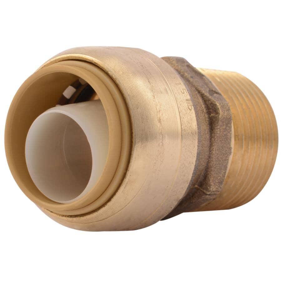 "SHARKBITE:3/4"" x 3/4"" Male Pipe Thread Adapter"