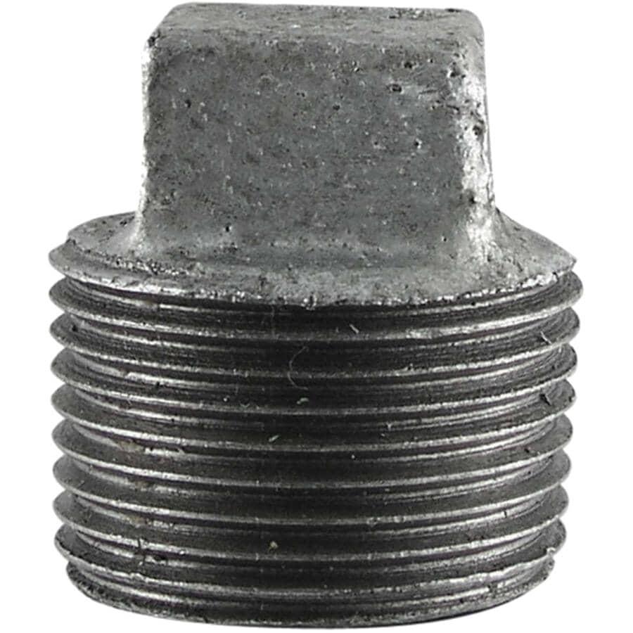 "STZ INDUSTRIES:3/4"" Galvanized Cored Plug"