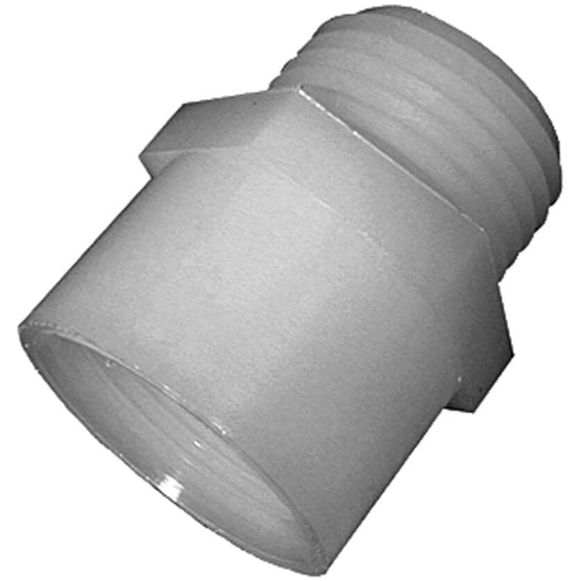 "GREENLEAF:2 Pack 3/4"" Male Garden Hose Thread x 1/2"" Female Pipe Thread Nylon Adapters"