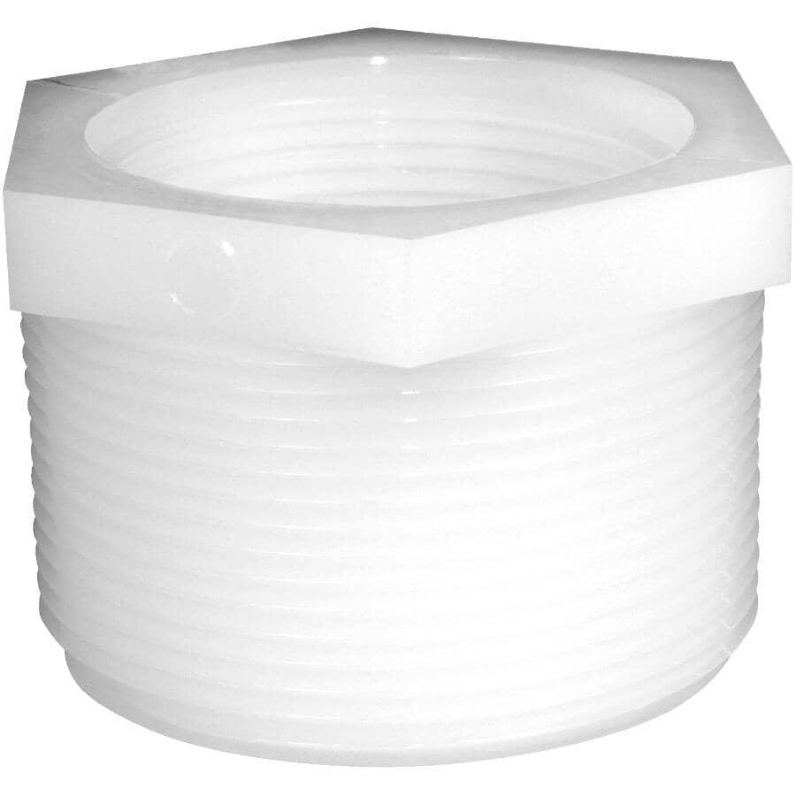 "GREENLEAF:2 Pack 3/4"" Male Pipe Thread x 1/2"" Female Pipe Thread Nylon Bushings"