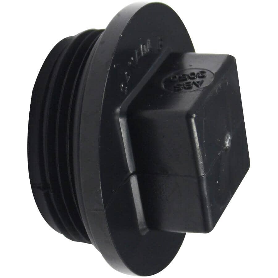 """CANPLAS:1-1/4"""" ABS Cleanout Plug"""