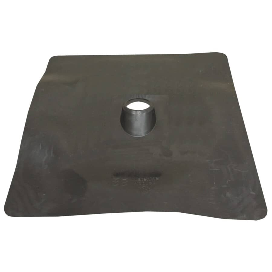 """WATERLINE PRODUCTS:1-1/2"""" Rubber Roof Vent Flashing"""