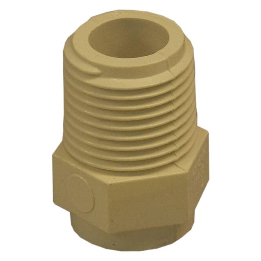 "FLOTEMP:1/2"" Male CPVC Adapter"