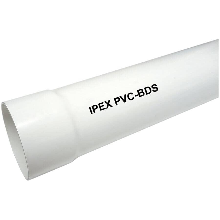 ROYAL BUILDING PRODUCTS:Tuyau d'égout uni de 4 po x 10 pi en PVC