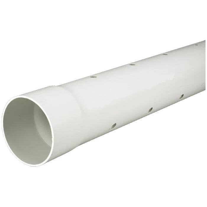 ROYAL BUILDING PRODUCTS:Tuyau d'égout perforé DR35 de 3 po x 10 pi en PVC