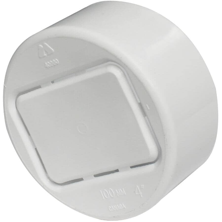 """CANPLAS:Downspout Adapter for 4"""" Corrugated Pipe"""