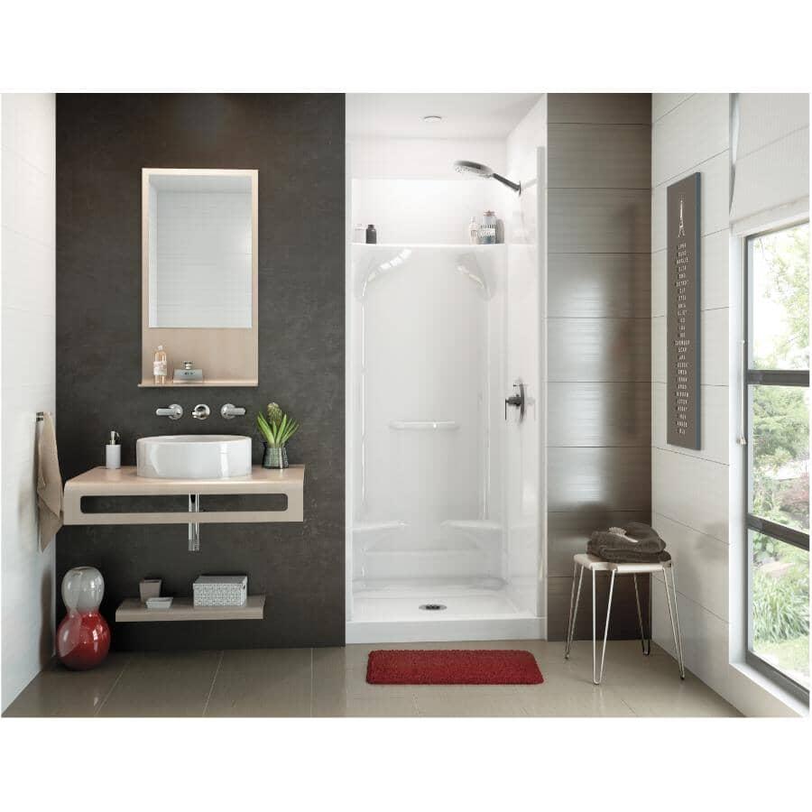 """MAAX:32""""x 32"""" Essence 4 Piece AcrylX Shower Cabinet - White"""