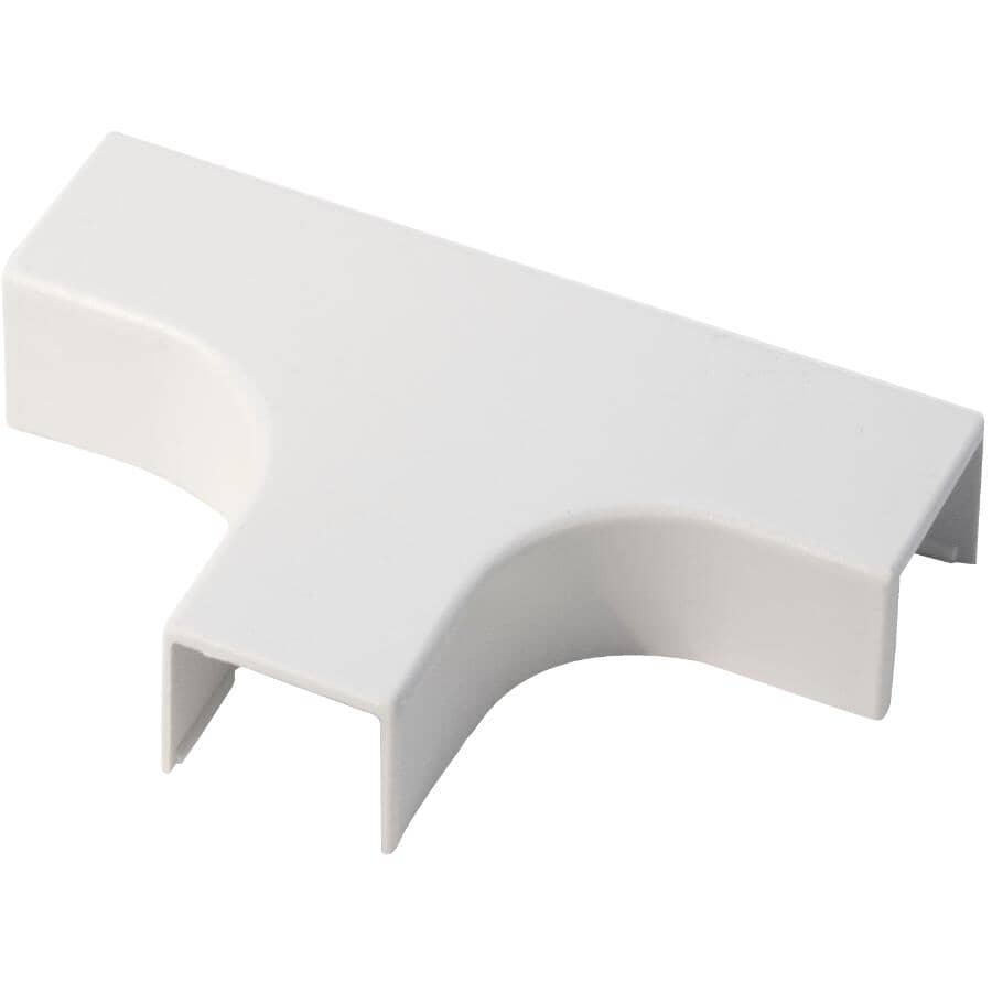 NORTH AMERICAN BRANDS:Small White Cord Conceal Tee Connector Fitting