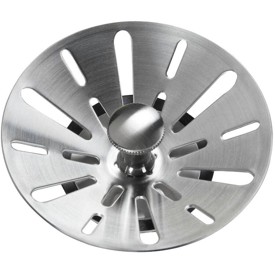 MOEN:Deluxe Stainless Steel Kitchen Strainer Basket