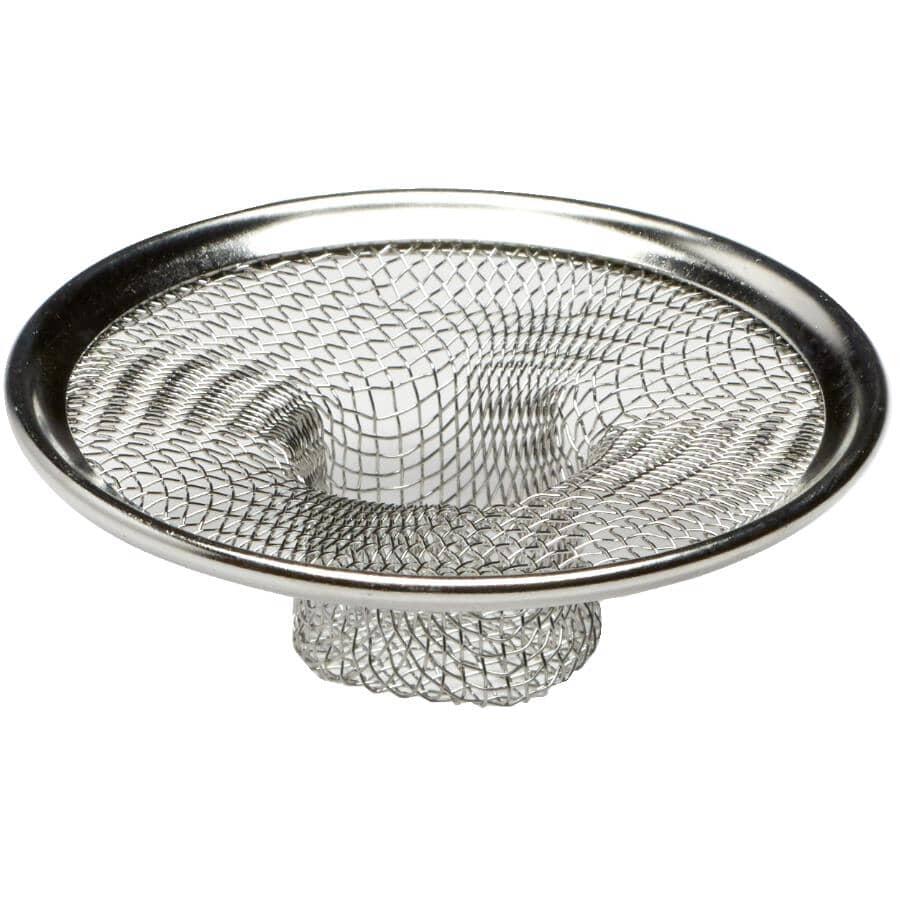 Stainless steel vanity strainer - 50 mm