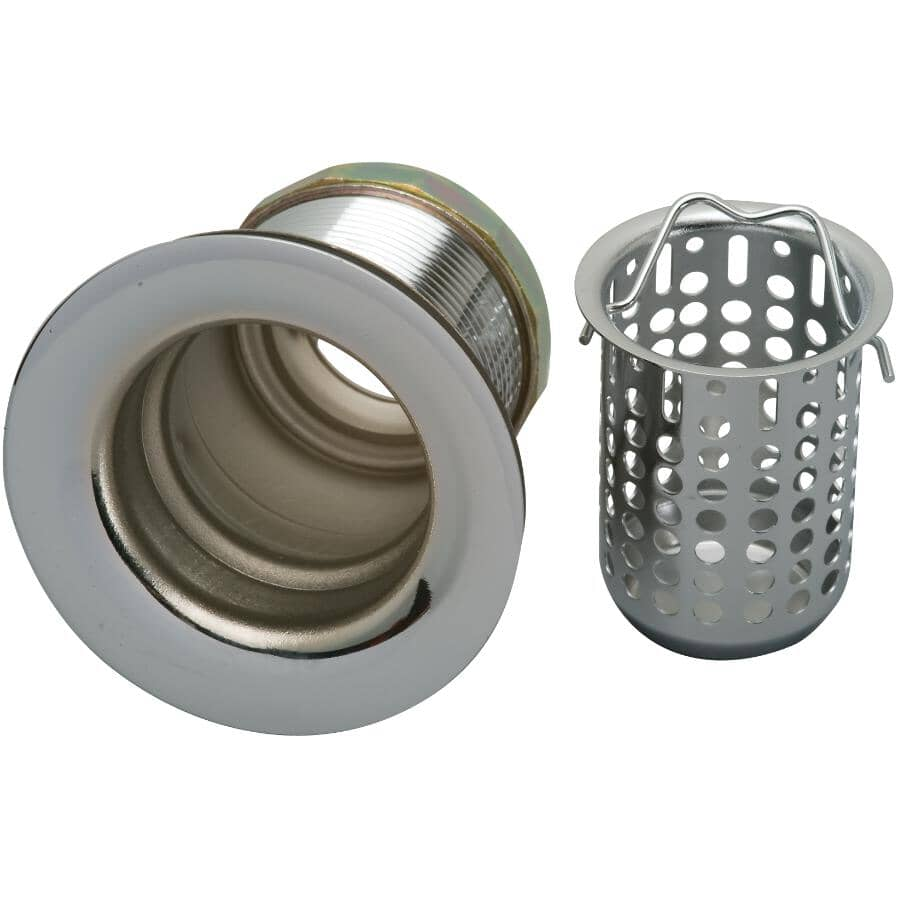 MOEN:Complete Stainless Steel Sink Strainer - with Basket
