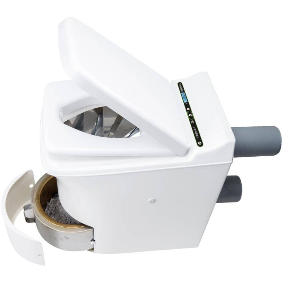 CINDERELLA:Comfort Incineration Elongated Toilet - White