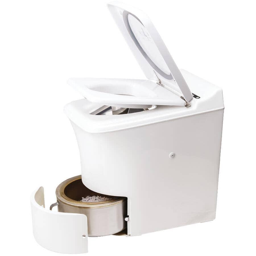 CINDERELLA:Gas Incineration Elongated Toilet - White