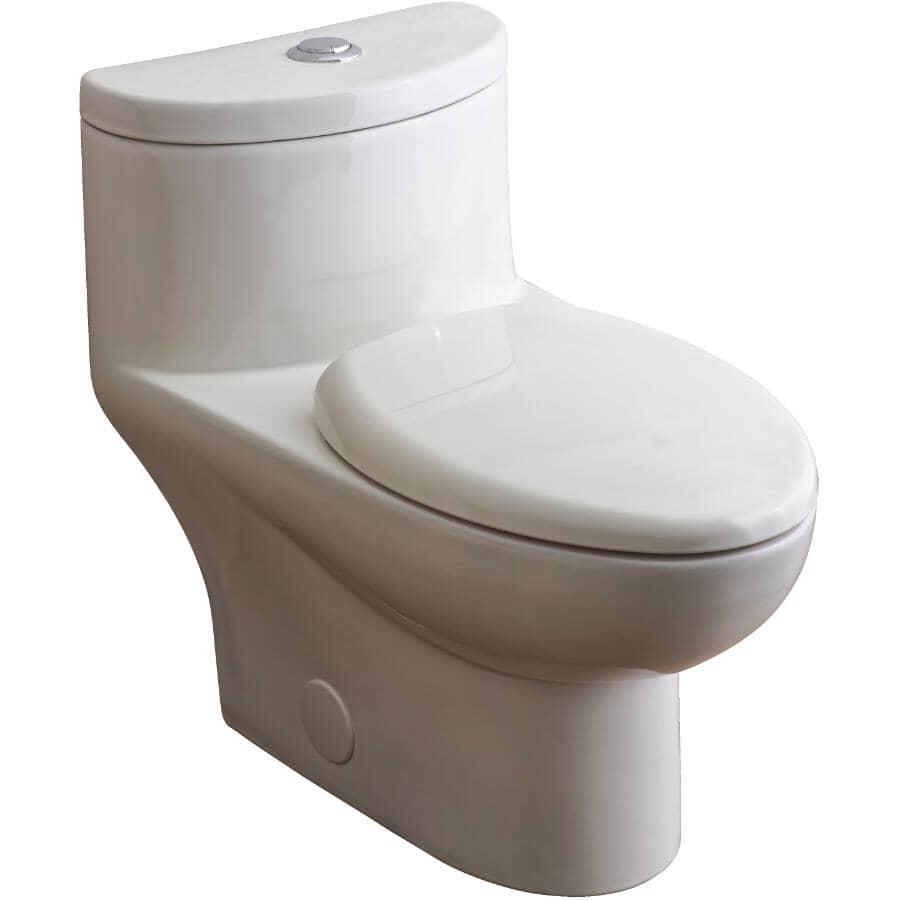 AMERICAN STANDARD:4.1 L / 6 L Tofino Dual Flush Elongated Toilet - White