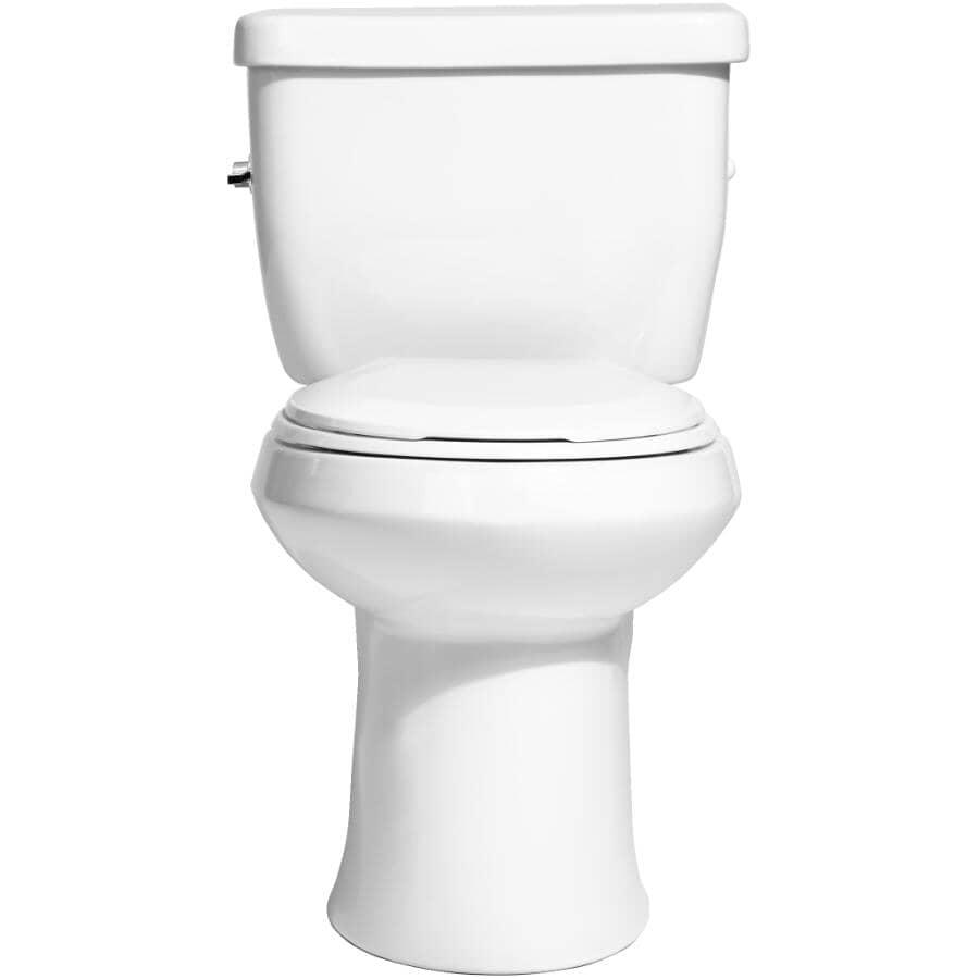 NIAGARA CONSERVATION:4.8 L Flapperless Round Toilet - White