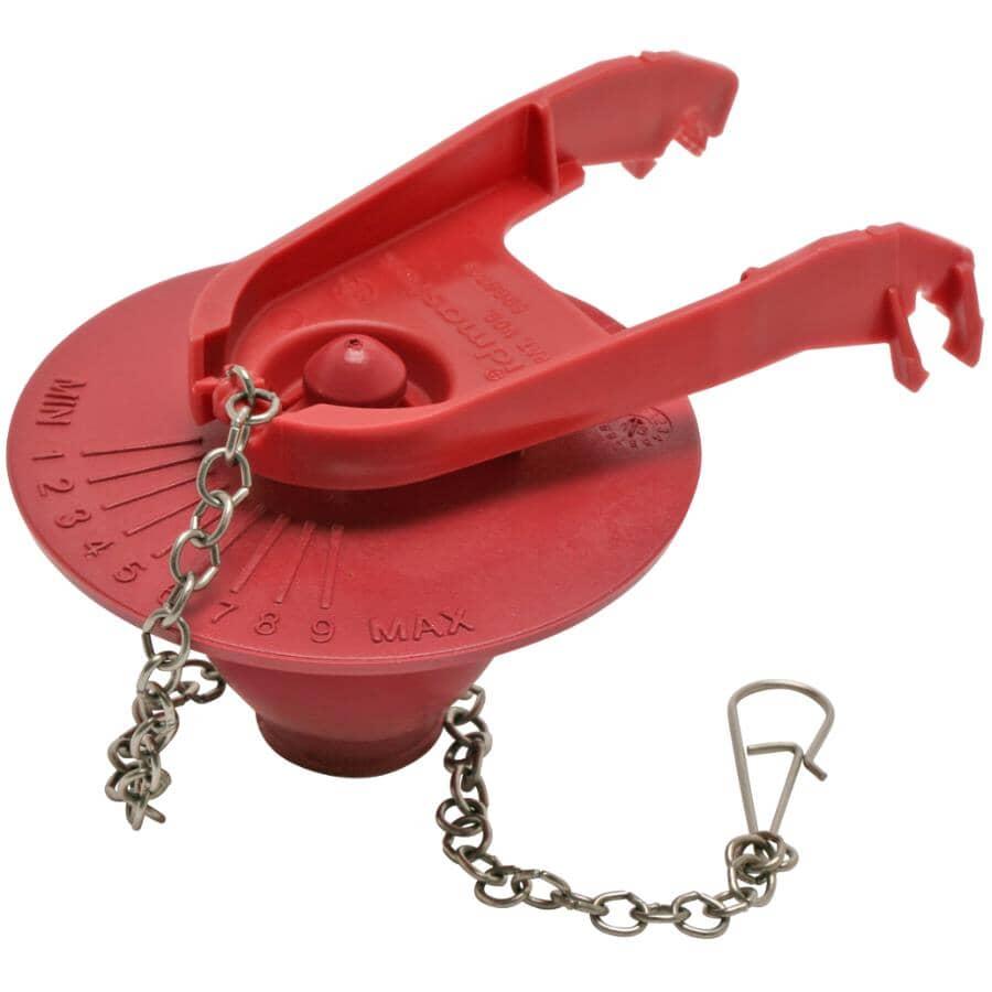 FLUIDMASTER:Clapet de toilette Adjust-A-Flush
