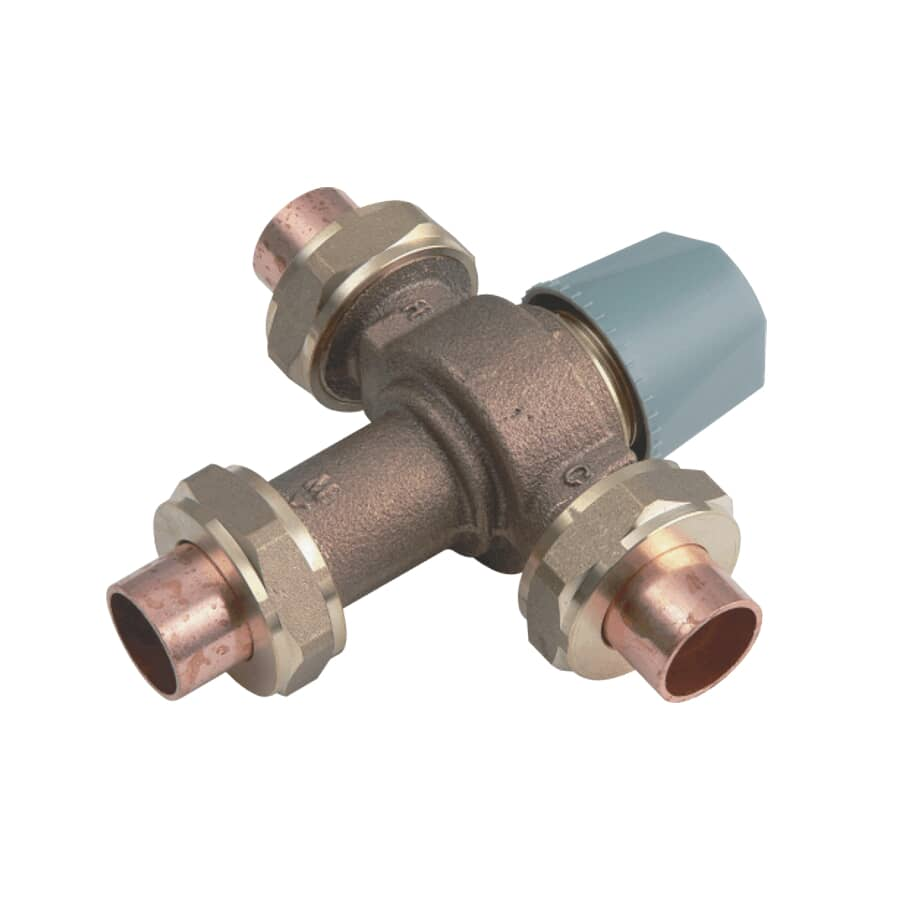 """WATTS INDUSTRIES:3/4"""" Mixing Valve for Water Heater"""