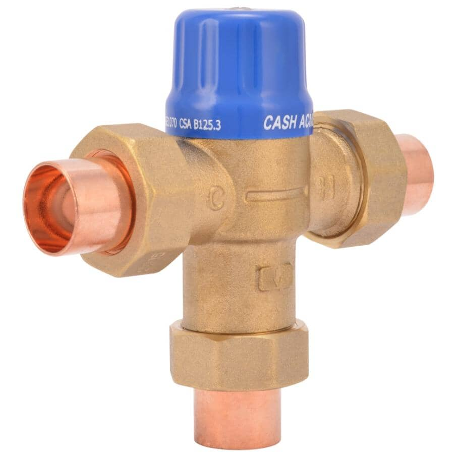 """SHARKBITE:3/4"""" Hot Water Thermostatic Mixing Valve"""