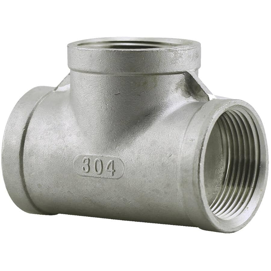 "PLUMB-EEZE:3/8"" Stainless Steel Tee"