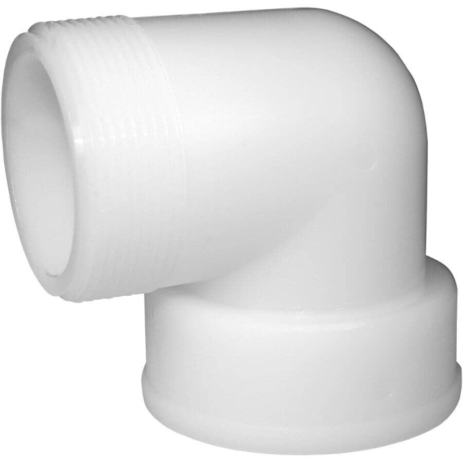 """GREENLEAF:1-1/4"""" Male Pipe Thread x Female Pipe Thread 90 Degree Nylon Elbow"""