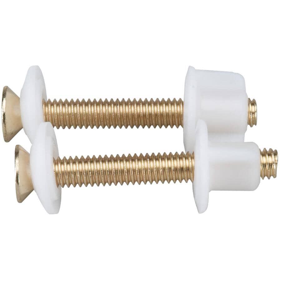 MOEN:Toilet Seat Hinge Bolts - Brass