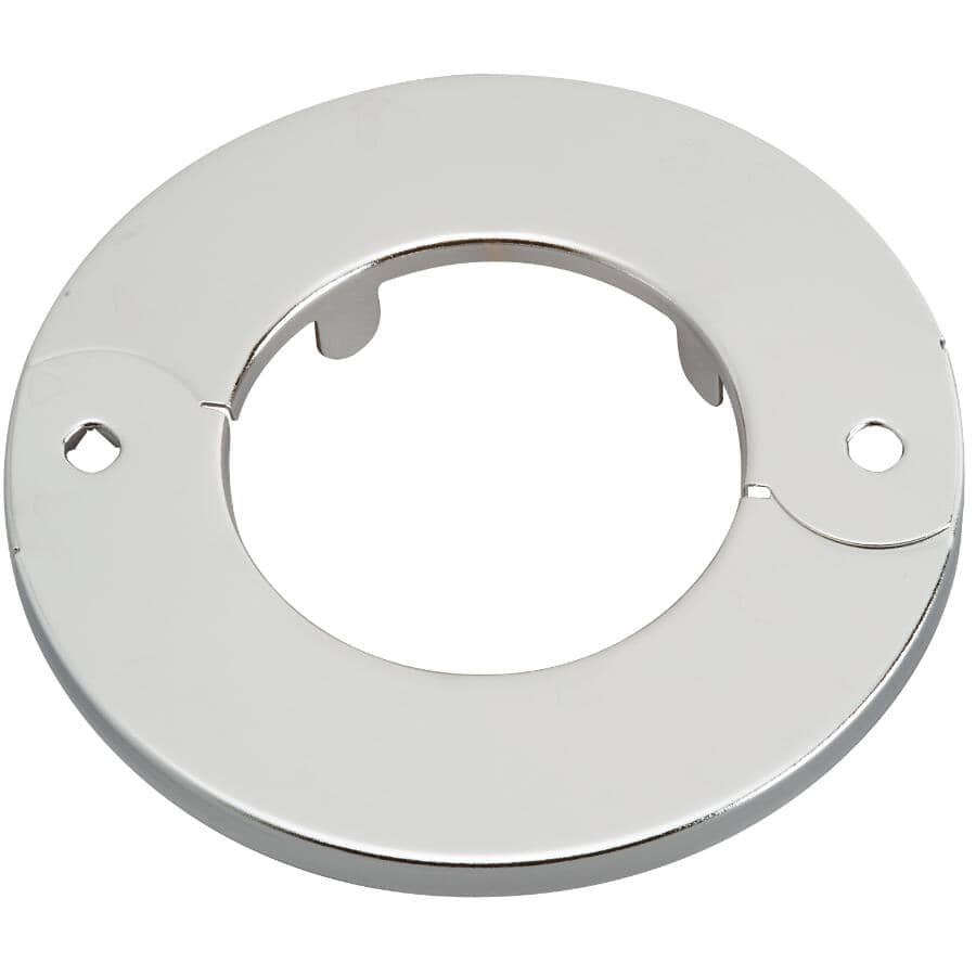 """MOEN:1-1/2"""" Iron Pipe Size Floor and Ceiling Plate"""