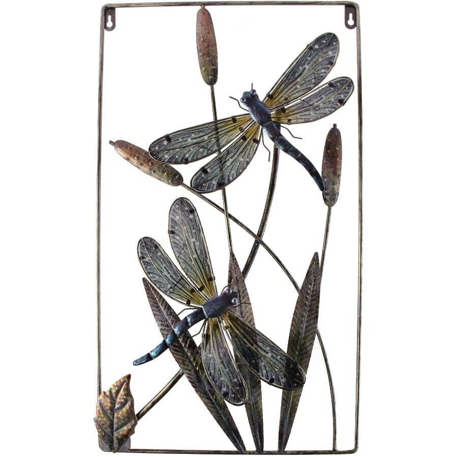 """FUSION:24"""" Battery Operated Dragonfly Wall Light"""