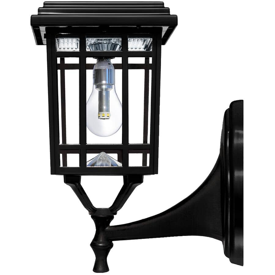 GAMA SONIC:Prairie Solar Lamp, with Three Mounting Options