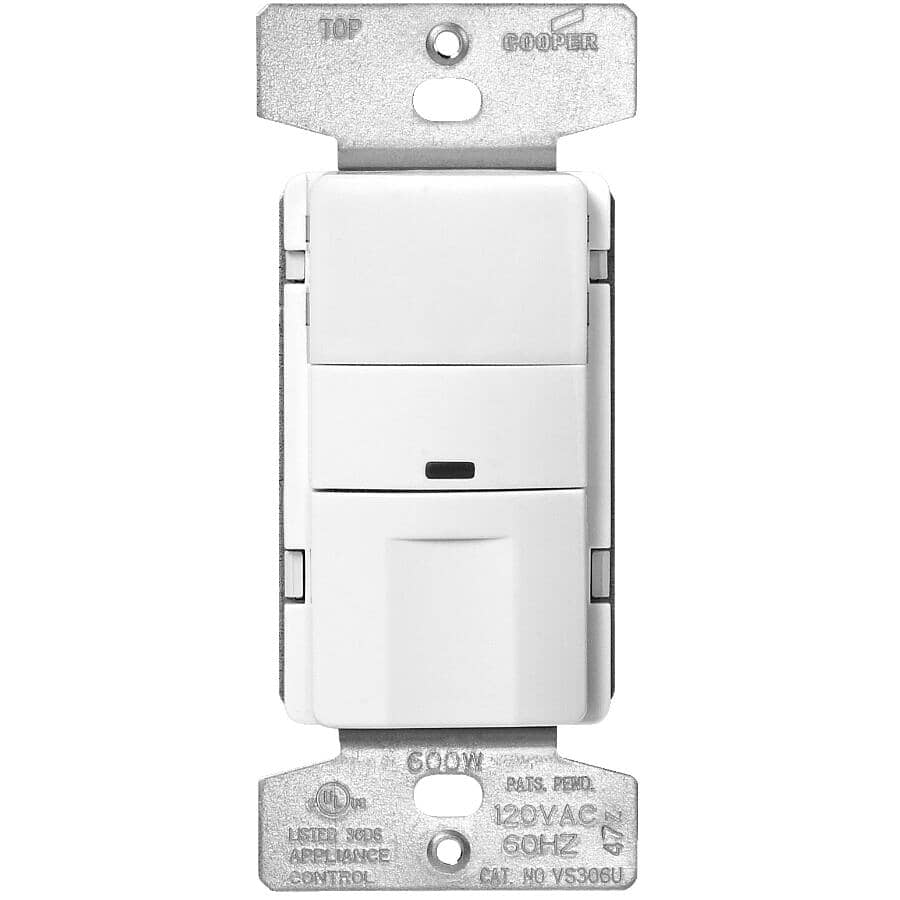 EATON:180 Degree Occupancy Sensor Light Switch