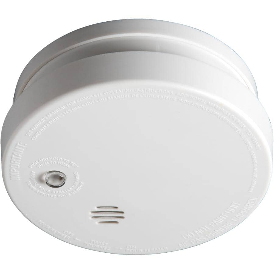 KIDDE:Battery Operated Smoke Detector, with Hush Button