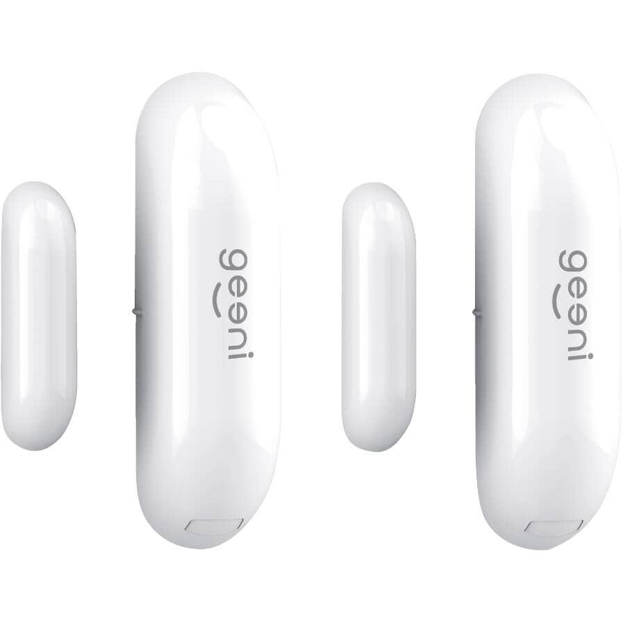 GEENI:2 Pack Window/Door Sensors - with Smart Wi-Fi