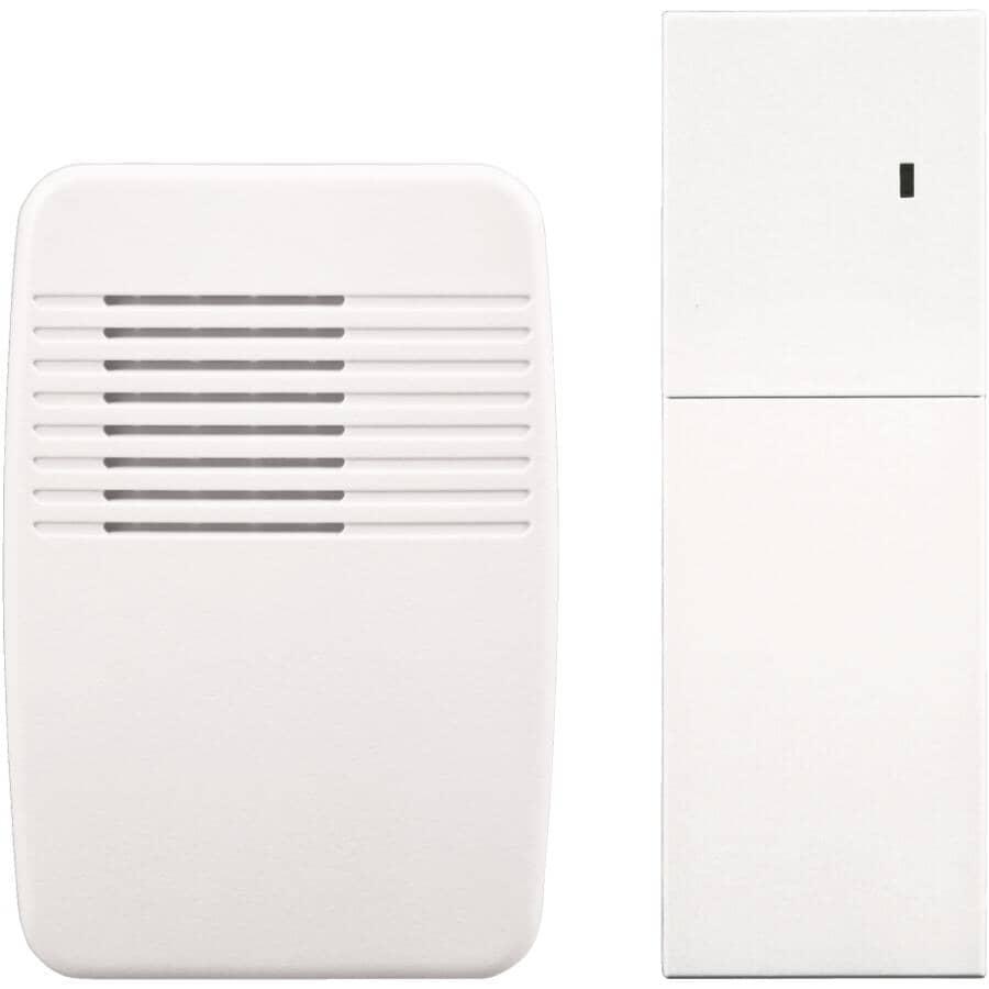 HEATH/ZENITH:Wireless Plug-In Chime Extender - White
