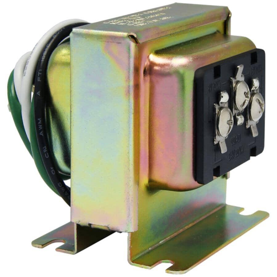 IQ AMERICA:Wired Trivolt Doorbell Chime Transformer