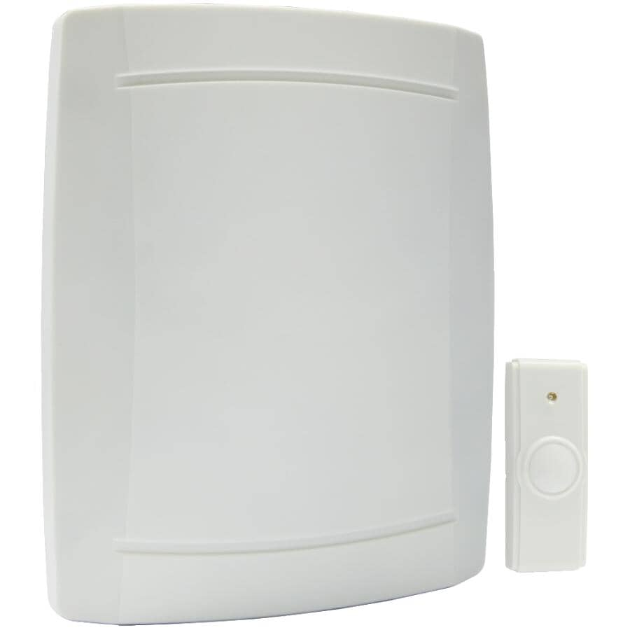 IQ AMERICA:Battery Operated Wireless Door Chime - with Button