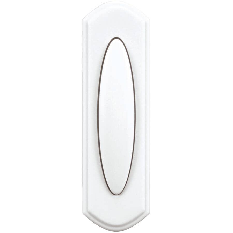 HEATH/ZENITH:Wireless Push Button Doorbell - White