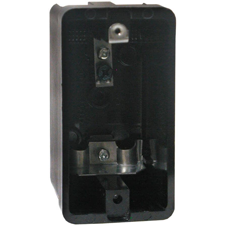 "LEVITON:2"" Phenolic Utility Wiring Box"
