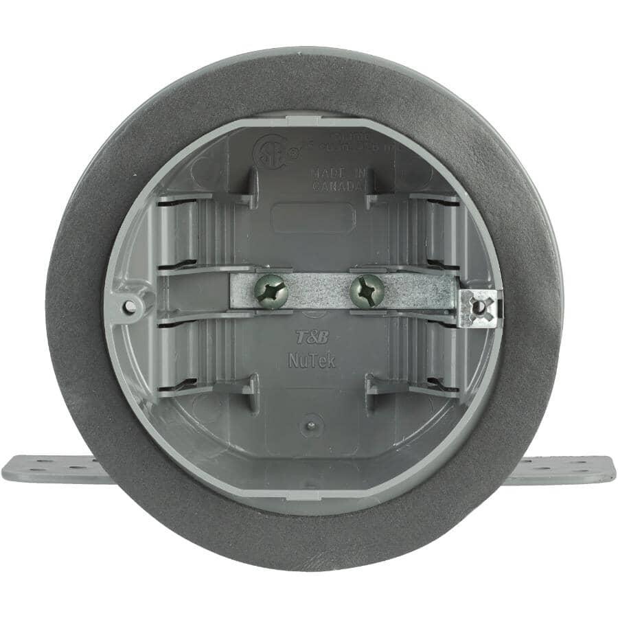 NU TEK:Boîte de câblage pour plafond