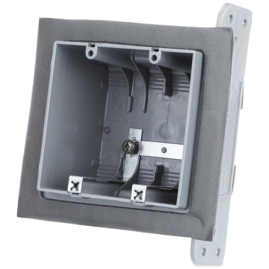 NU TEK:Boîte d'interrupteur étanche double