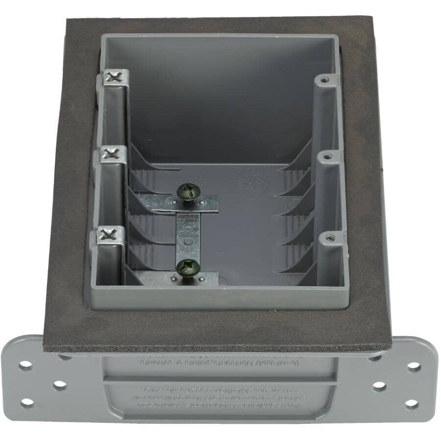 NU TEK:Boîte d'interrupteur étanche triple