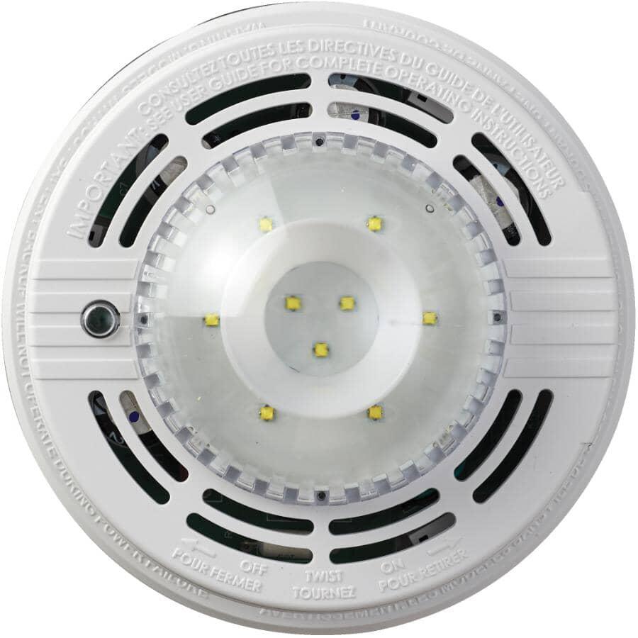 KIDDE:Strobe Light, For Wire-In Smoke/Carbon Monoxide/Heat Detector