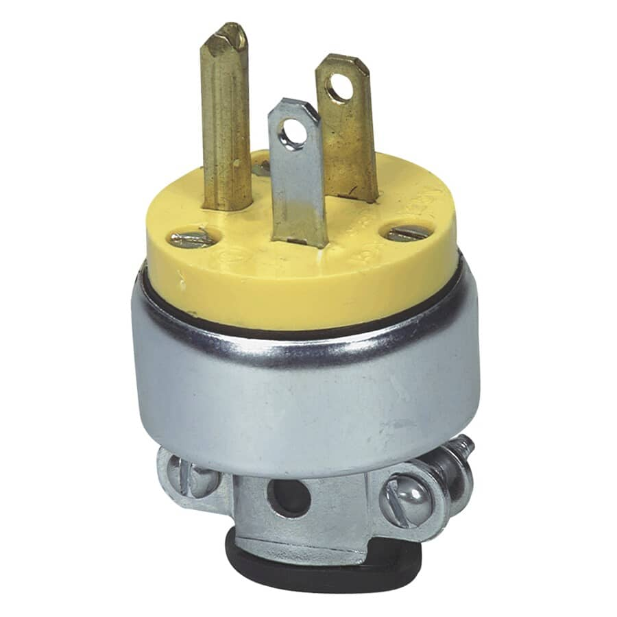 EATON:3 Wire 15 Amp 125V Armored Electrical Plug