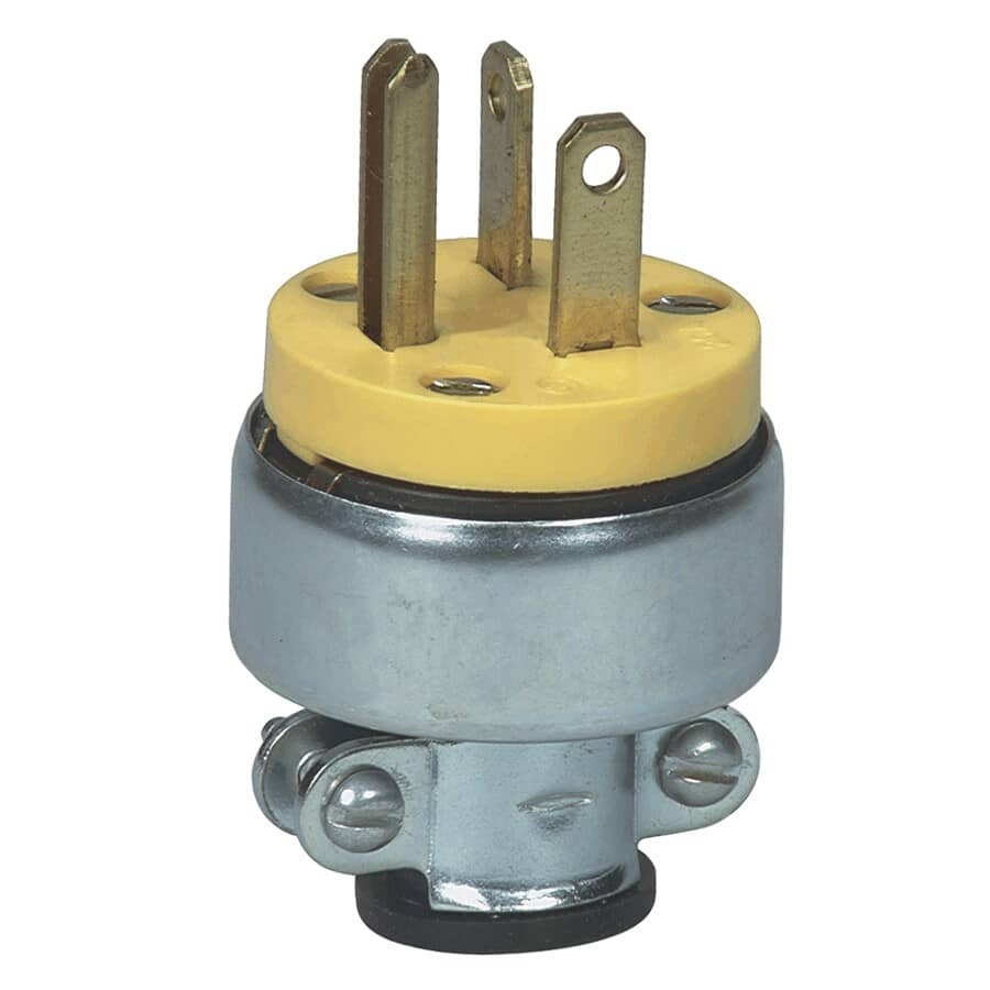 EATON:3 Wire 20 Amp 250V Armoured Electrical Plug