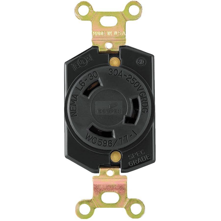 EATON:30 Amp 250V Twist Electrical Receptacle