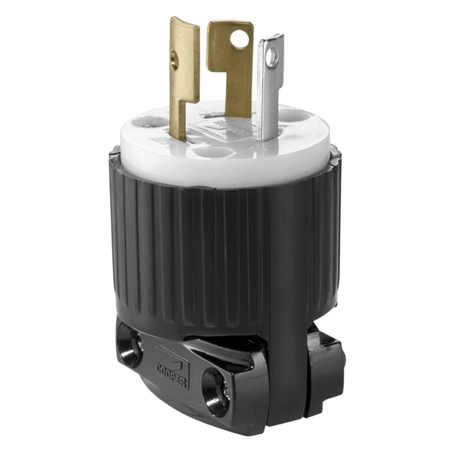 EATON:15 Amp 125V Twist Electrical Plug